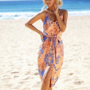 Hello Molly Floral High Low Dress
